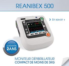 Dispositifs médicaux :  REANIBEX 500