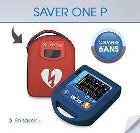 Dispositif médical de première urgence : Défibrillateur Saver One P